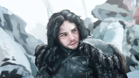 You know nothing, Jon Snow by desmondWOOT