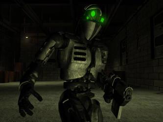 Cyborg by TRAVARTS