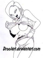 Hot Android 18 by Droolart