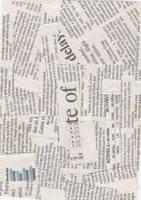 Texture03 Newspaper by locololastock