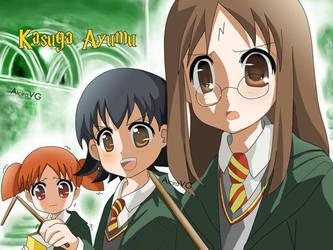Kasuga Ayumu as Harry Potter by purinachi
