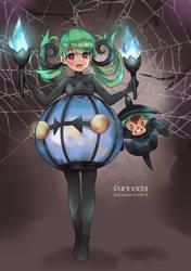 [P-Dianthe] Disfraz de Halloween by purinachi