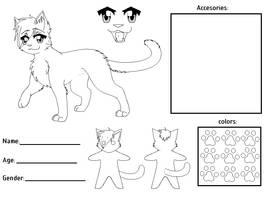 fursona ref sheet template by candy-behemoth