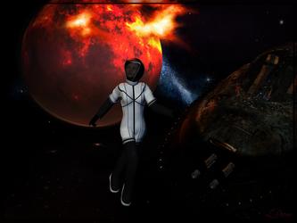 Space Walk by Qutey