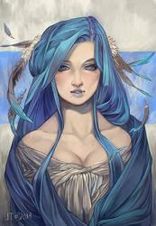 Bluebird by juuhanna