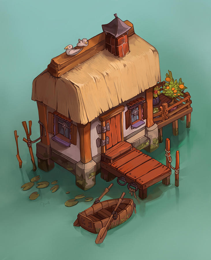 Fishing House by juuhanna