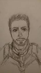 Tony Stark by MaybeBirdy