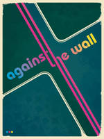 against the wall by dp-illustrations