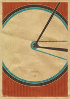 Singlespeed - Bike Print by dp-illustrations