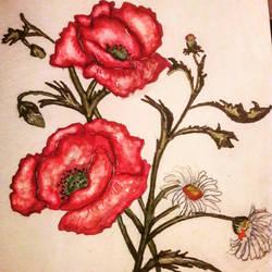 Flowers by artcunt1234