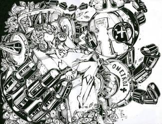 Inky Dreams [Bedman Fanart] by Potave-King