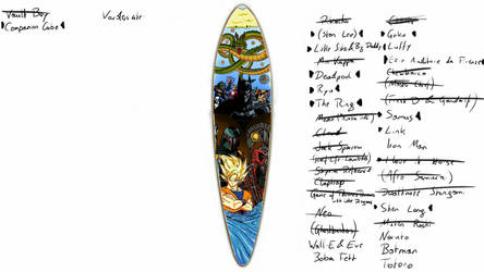 Longboard Design by StygianPanda