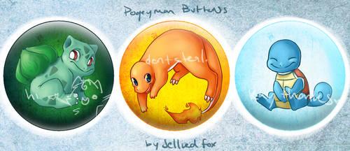 Pokemon Buttonnnnsss 1 by JelliedFox