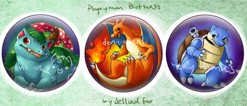 Pokemon Buttonnnnsss 3 by JelliedFox