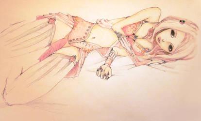 Strawberry Girl by MarmaladeNightmare