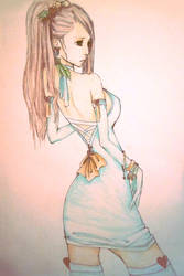 Mint Choco Girl by MarmaladeNightmare
