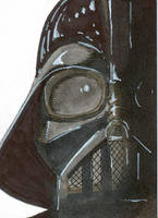 Vader by Pencilbags