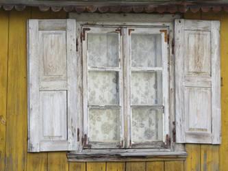 pikne stare okno by libellule64wazka