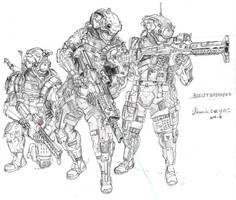 Bulletbreaker squad by HorcikDesigns
