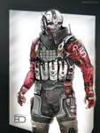 Akateko armor by HorcikDesigns