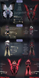 Hollow Knight - Custom Characters Sheet by Stuflox