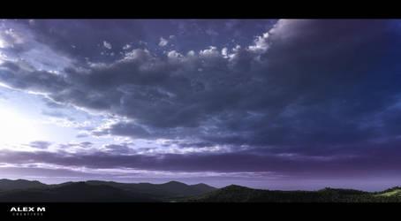 Forest Vista by Alexm95