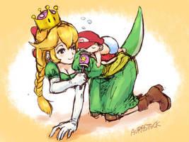 Princess Yoshi(? by aurastack