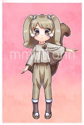 Adopt Russian flying squirrel girl / Open by mmuttonn