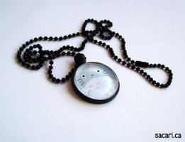 My Neighbour Totoro Glass Pendant Necklace by Sacari