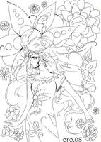colouring page 5  FEELINGS by orjoowan-art