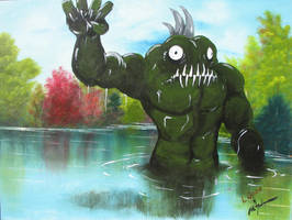 Swamp Monster by CHR15T0PH3L35