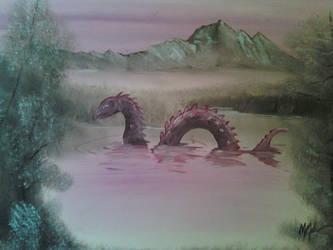 Lake Serpent by CHR15T0PH3L35