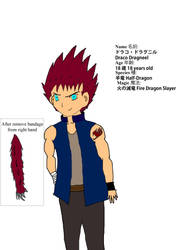 Draco Dragneel by WolverineFung