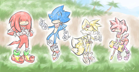 Sonic Boom by Fluffernubber
