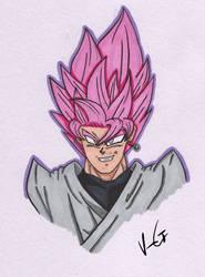 Goku Black (Super Saiyan Rose) by KingGlory