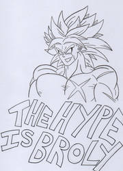 Broly is canon! by KingGlory