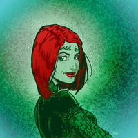 Commission - Poison Ivy by Igloinor