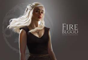 Daenerys Stormborn Targaryen by LianFex