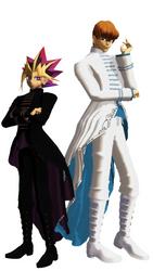 Yami and Seto new oufits by SacredAmethystFox