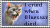 I Cried When Bluestar...Stamp by SweetSuicune2000