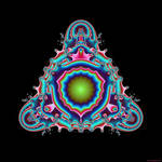 fractal yoga by divinegypsy
