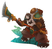 Pandaren by DrawingKuma