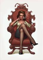 Lady by glooh