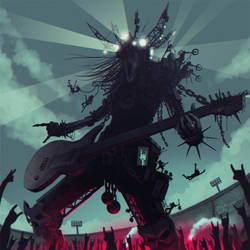 Metal god by glooh