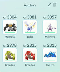 My Pokemon Team: Autobot by Transformerbrett97
