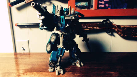 Electron Prime figure ( Night Watch Optimus Prime by Transformerbrett97