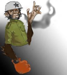 Monkey Punch!!! by skechitYAS