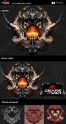 Gears Of War Locust interface by beatsta