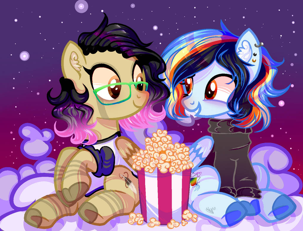 Night in the clouds (Edit base) by insaheart
