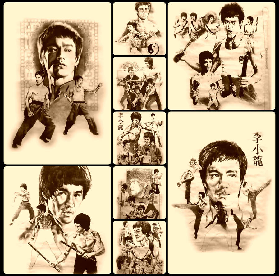 Bruce Lee (2400x2376) by rastanz